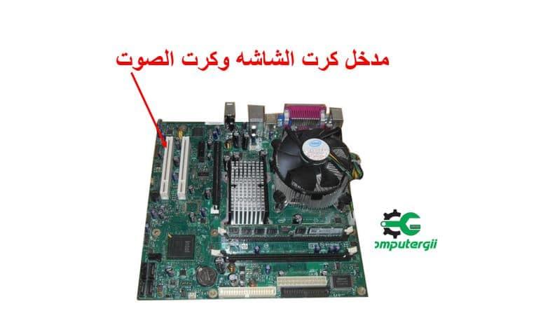 تركيب كرت الشاشه وكرت الصوت في الكمبيوتر - كمبيوترجي