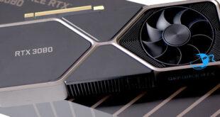 نظرة عن كثب على بطاقة RTX 3080 الجديدة من Nvidia