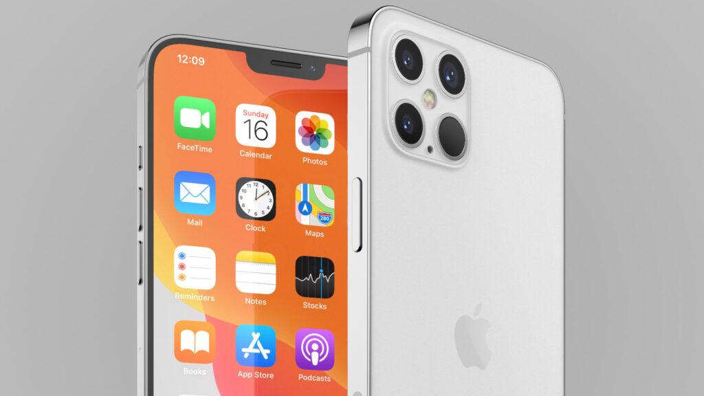 تصميم جهاز iphone pro 12