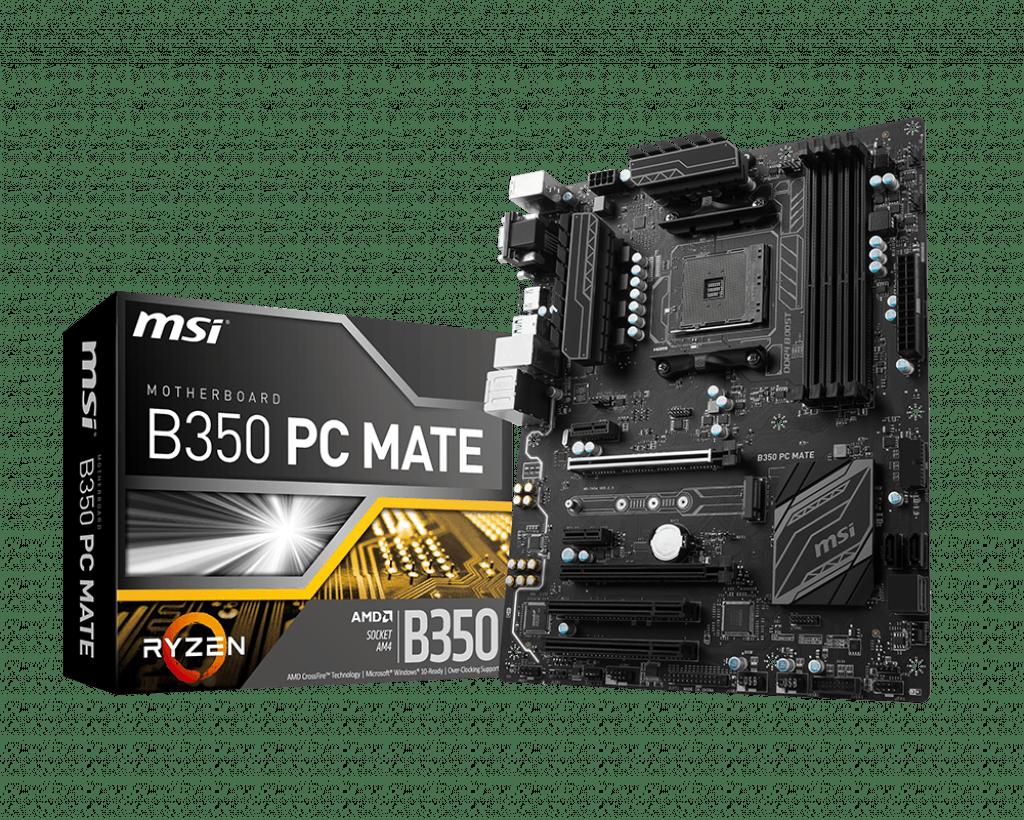 كيف تختار مازربورد - MSI B350 PC MATE