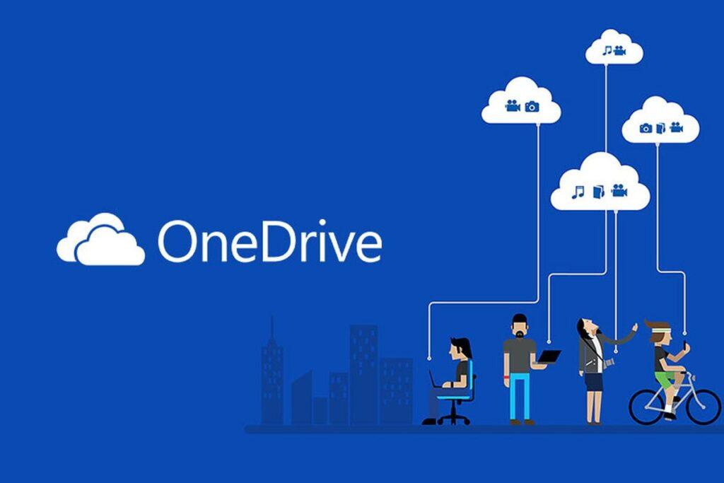 مواقع التخزين السحابي - Microsoft OneDrive