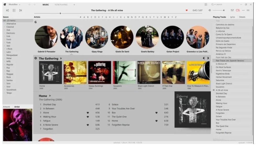 برامج تشغيل الأغاني