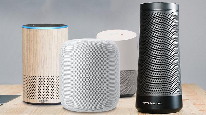مكبرات الصوت الذكية - Smart speakers