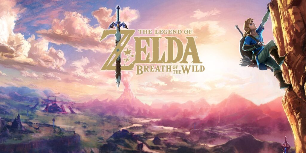 العاب العالم المفتوح - Zelda Breath of the Wild