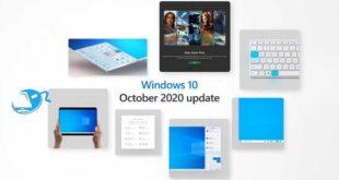 تحديث Windows 10 لشهر أكتوبر متوفر الآن بميزات جديدة