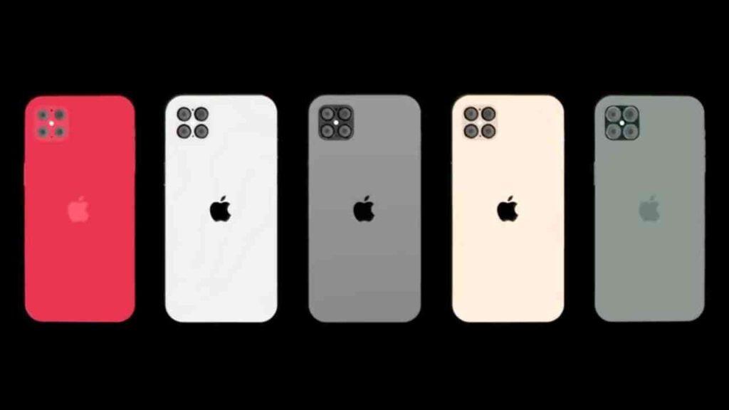 ألوان جهاز iphone 12