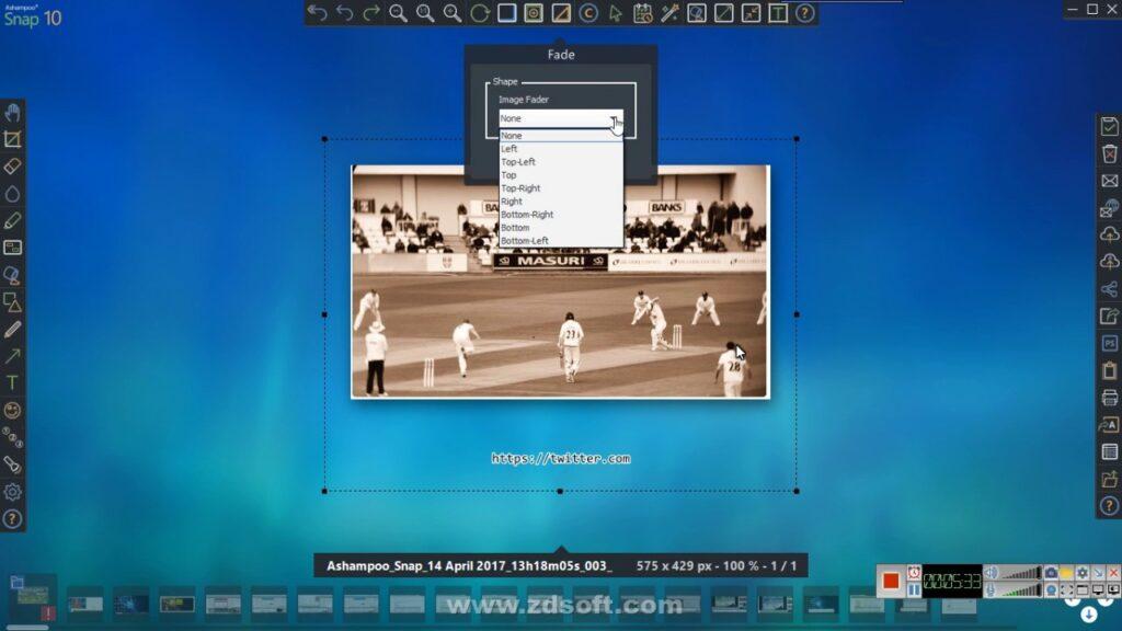 أفضل برامج سكرين شوت للكمبيوتر - Ashampoo Snap