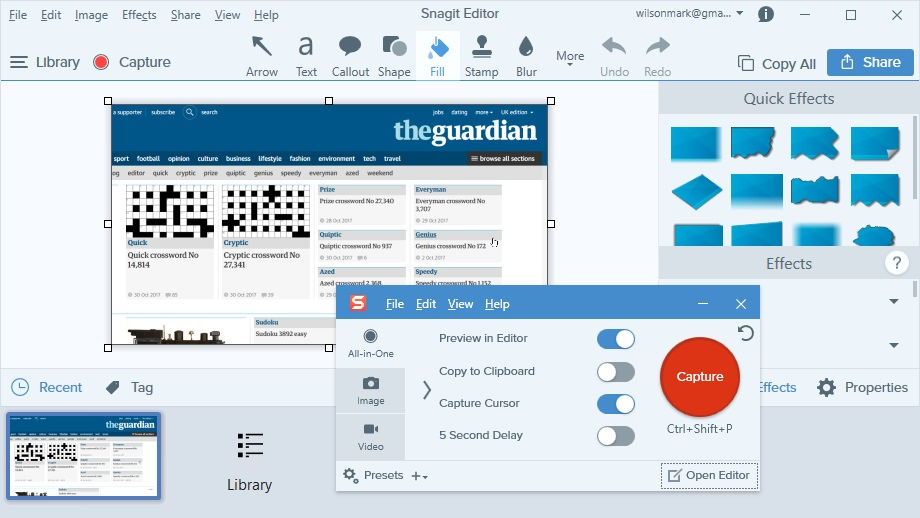 برامج تسجيل شاشة الكمبيوتر