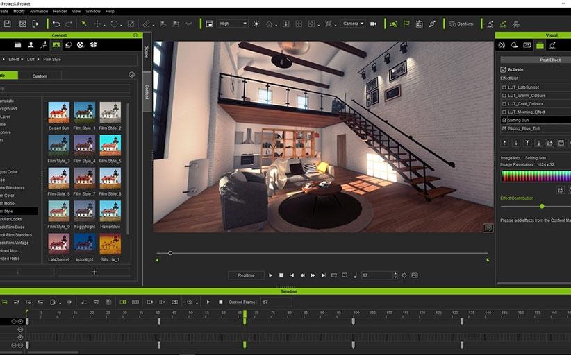 برنامج رسوم متحركة ثلاثية الأبعاد - iClone