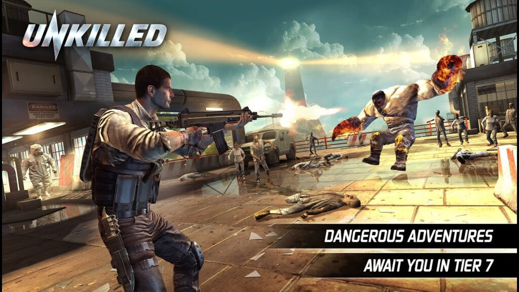 لعبة unkillled
