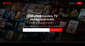 تنزيل Netflix للكمبيوتر